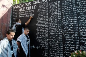 PALESTINIAN-ISRAEL-GAZA-CONFLICT-DEMO