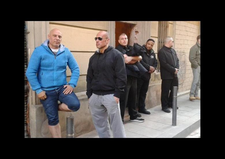 Desokupa-Paramilitärs-Spanien